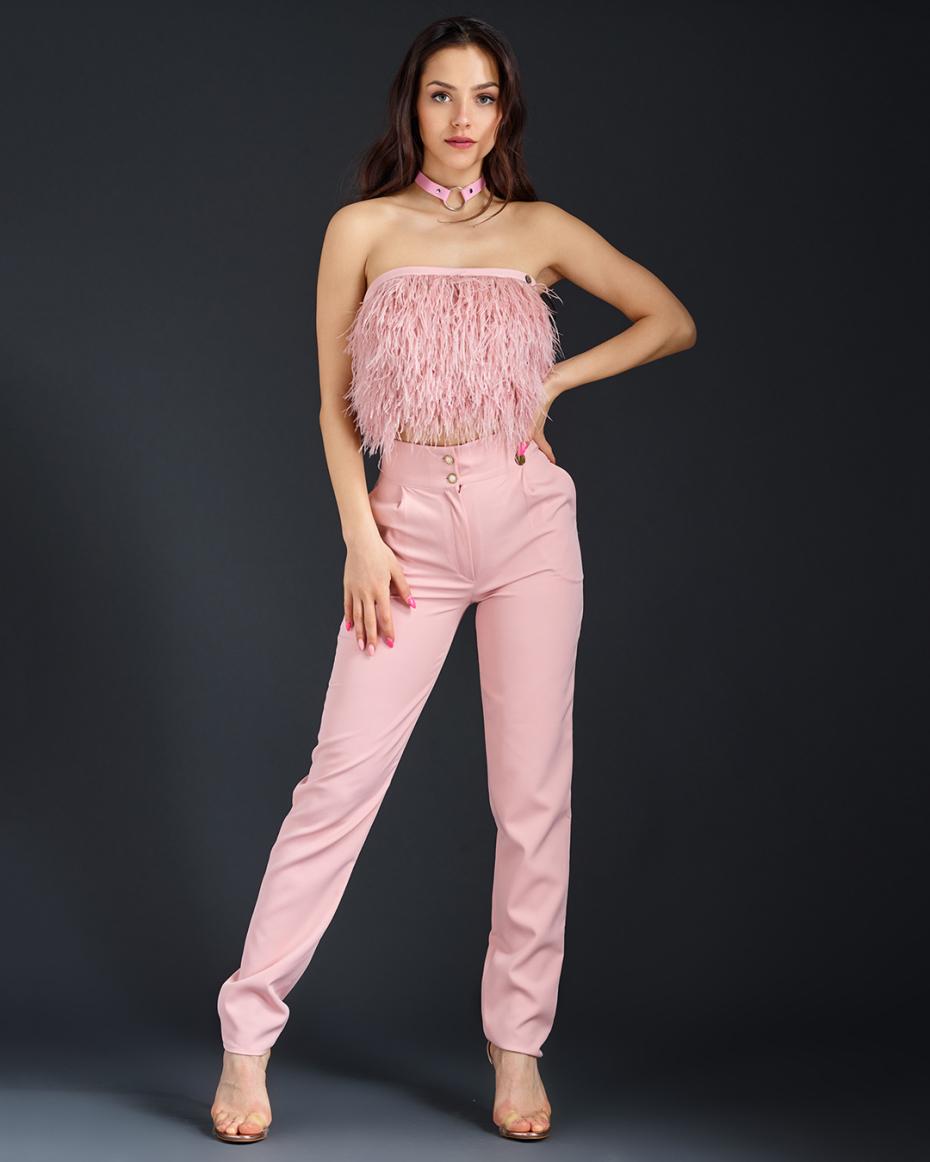 "{""bg"":""Млечно розов панталон"",""en"":""Milky pink pants""}"